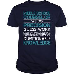 Awesome Tee For Middle School Counselor T-Shirts, Hoodies. CHECK PRICE ==► https://www.sunfrog.com/LifeStyle/Awesome-Tee-For-Middle-School-Counselor-99980594-Navy-Blue-Guys.html?id=41382