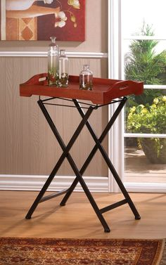 103 96 Rustic Spirit Tray Table Free Shipping Always Plus We Have S 365 Days A Year