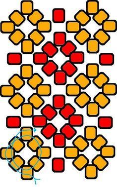 Tudo sobre a Técnica do Entrelaçamento - Como Criar Bijuterias – Montagem de Bijuterias Beaded Jewelry Patterns, Beading Patterns, Free Beading Tutorials, Seed Bead Projects, Beading Techniques, Brick Stitch, Beading Supplies, Bead Weaving, Bracelet