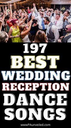 2021 Wedding Reception Music Playlist | Song List of 197 Dance Songs