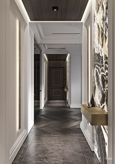 The Trick for Luxury Hotel and Lobby Design Inspiration You don't want your interior to appear too cluttered! The things which you increase . Luxury Home Decor, Luxury Interior Design, Interior Exterior, Home Interior, Interior Architecture, Luxury Homes, Flur Design, Villa, Lobby Design