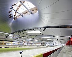 Inzell Speed Skating Stadium / Behnisch Architekten + Pohl Architekten - Inzell, Germany