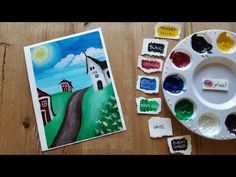 In this video I will show you guys how to paint a cartoon village on canvas with acrylics! Acrylic paints on canvas is a great way to paint cartoon fun scene. Cartoon Fun, Cool Cartoons, Acrylic Painting Canvas, Watercolor Paper, Art Tutorials, Acrylics, Make It Yourself, Creative, Youtube