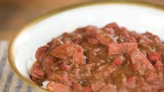 Clara's New Orleans Red Beans and Rice is equal parts comforting, nostalgic, and delicious Southern food. Southern Dishes, Southern Recipes, Southern Food, Red Beans And Rice Recipe Easy, New Orleans Red Beans And Rice Recipe, Authentic Red Beans And Rice Recipe, Rice Recipes, Cooking Recipes, Cooking Videos