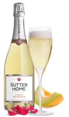 Bubbly Moscato Wine   Sutter Home #KHTogether