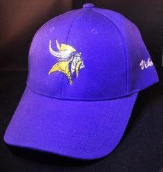 Minnesota Vikings Swarovski Crystal Rhinestone Bling Hat, www.babywantsbling.com
