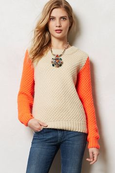 Flicker Flame Pullover - anthropologie.com