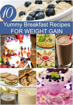 Healthy Weight 10 Yummy Breakfast Recipes To Try Out For Weight Gain - In today's world, there are people who want to gain weight for a variety of reasons. Here are 10 yummy recipes of healthy breakfast for weight gain to try out Weight Gain Journey, Weight Gain Meals, Weight Gain Meal Plan, Healthy Weight Gain, Weight Loss, Recipes For Weight Gain, Lose Weight, Weight Gain For Kids, Weight Gain Drinks