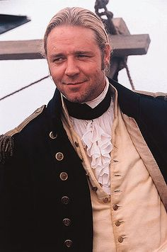 Capt. Jack Aubrey (I'm a fan of Crowe, too, but admire the character from Patrick O'Brian's books.)
