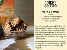 Cookies Banane & Avoine (V, GF)  