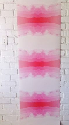 Sunset scape pink wallpaper by www.designmate.co