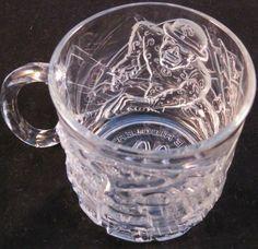 McDonalds The Riddler Batman Forever Glass Cup Mug 1995   Collectibles, Advertising, Restaurants & Fast Food   eBay!