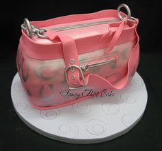 Coach Purse Cake by FancyThatCake, via Flickr