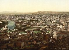 Tiflis (Tbilisi), the capital of Georgia, late 19th century.