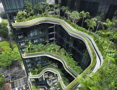 Park Royal Hotel, cel mai verde hotel, la Singapore