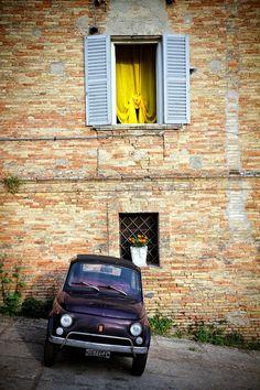 A come Abruzzo - Loreto Aprutino Fiat Cinquecento, Fiat 500c, Fiat Abarth, Vespa, Fiat 126, Good Looking Cars, Maserati, Lamborghini, Ferrari