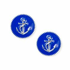 Oversized Anchor Stud Earrings | Claire's