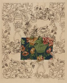 Design from the Silver Studio Collection at MoDA #ColorOurCollections