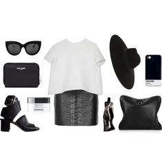 """""""Leather forever"""" by grace-mxo on Polyvore"""