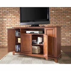 """Crosley Furniture Newport TV Stand for TVs up to 60"""""""