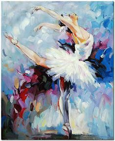 Painting By Numbers Paint Ballet Dancer DIY Canvas – Vettsy Hand Painted Canvas, Diy Canvas, Ballerina Kunst, Ballerina Painting, Dance Paintings, Ballet Art, Ballet Dancers, Oil Painting Abstract, Canvas Pictures