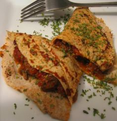 = PROTEIN POW(D)ER !: Psyllium husks and Egg White Protein Crepes with Bolognese Filling
