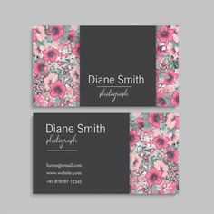 Vector floral border and logo design templates hand drawn style. Roots Logo, Cosmetic Logo, Luxury Logo Design, Business Card Design, Business Cards, Flower Logo, Leaf Logo, Flower Doodles, Logo Design Template