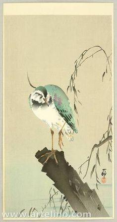 ca.1912 - Shōson, Ohara - Green Heron