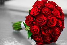 Red roses with green leaves and the touch of white fragrance flowers make you able to take spanking new styling to your room. Description from weddingceleb.com. I searched for this on bing.com/images