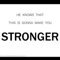 Stronger Mandisa Lyric Art