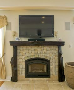 Rustic Fireplace Design, Pictures, Remodel, Decor and Ideas