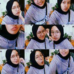 Lol Ootd Hijab, Girl Hijab, Hijab Outfit, Selfie Ideas, Selfie Poses, Cute Relationship Goals, Cute Relationships, Fb Girls, Hijab Tutorial