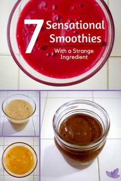 7 Healthy Bean & Fruit Smoothie Recipes | www.carobcherub.com | Bean smoothies may sound weird, but they're effective to lose weight. Try one of these 7 easy, healthy smoothie recipes. Perfect for breakfast or another meal replacement. You'll have your flat belly in no time. @carobcherub