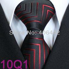 YIBEI Coachella ties Men's SKINNY Tie New Design Bordered Black With Dark Red Stripes Microfiber Necktie Fashion SLIM Tie $9.90