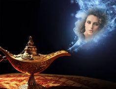 Montajes Lámpara Mágica. #genio #lamparamagica #magia #fotomontajes #aladino