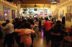 Tango Cochabamba 444 Milonga in San Telmo neighborhood of Buenos Aires. (photo credit - Mickela Mallozzi ©2012)