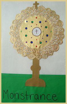 Monstrance Craft for Kids  |  Catholic Icing