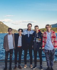 The Vamps + Matoma i loved their last song (staying up) im in love *. Will Simpson, Brad Simpson, Music X, Sound Of Music, Music Wall, Bradley The Vamps, Married In Vegas, Eleanor Calder, Perrie Edwards