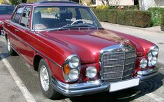 Mercedes-Benz W108 (250S – 300SEL), (1965-1972)