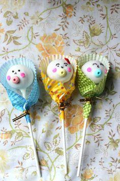Baby Shower Cake Pops | Sweet Revenge