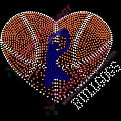 basketball t shirt designs high school | sparkle gear bling basketball boy faded heart design Copy rhinestone ...