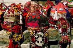 Uzbek Hats - Bukhara, Bukhara