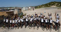 At Velokhaya we use cycling to involve children living in marginalised communities in a positive after-school activity, one which builds their self-esteem and keeps them off the streets and away from the social ills prevalent in their communities