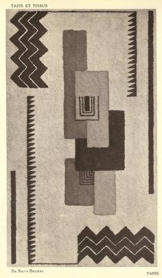 Design is fine. History is mine. — Sonia Delaunay, Tapis et Tissus, 1929. Éditions d...