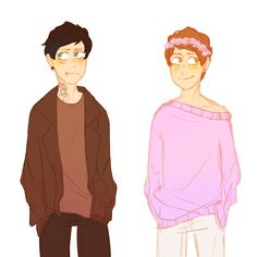 raszberry:  i want more pastel dan and punk phil pls