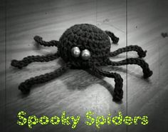 Spooky Spider Treat Pouch & Decor by Colleen Hays YarnWars Halloween Spider, Fall Halloween, Halloween Party, Halloween Treat Bags, Crochet Butterfly, Halloween Crochet, Free Crochet, Free Pattern, Crochet Patterns