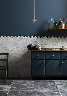 comment moderniser une cuisine, cuisine élégante et minimaliste