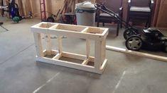 DIY Aquarium Stand Build