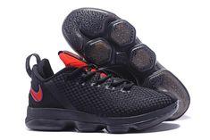 pretty nice e33f4 b3e05 2017 Nike LeBron 14 Low Flip the Switch Black University Red For Sale