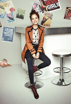 Song Ji Hyo Mixes It Up With Prints, Patterns, & Color For YESSE's Fall 2013 Campaign | Couch Kimchi